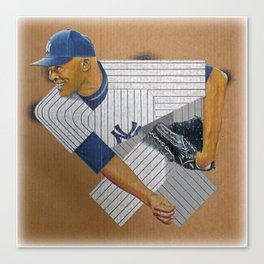 Yankee Rivera Canvas Print
