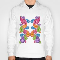 paisley Hoodies featuring Crazy Paisley by Digi Treats 2