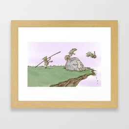 A Smart One Framed Art Print