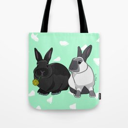 Elly and Bobby Tote Bag