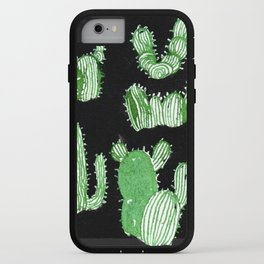 Cactus Beard Dude iPhone Case