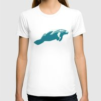 manatee T-shirts featuring Manatee by Gallery Girl