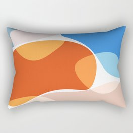 Modern minimal forms 36 Rectangular Pillow