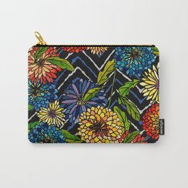 Chrissy Flowers Bohemian Carry-All Pouch