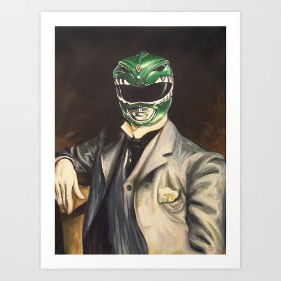 Gentleman Ranger Art Print