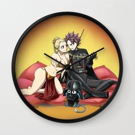 Natsu Vader / Lucy Leia Wall Clock