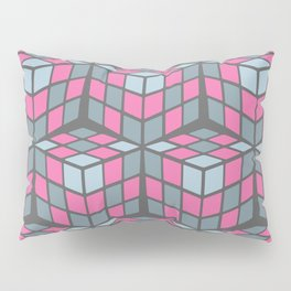 cascade - pink Pillow Sham
