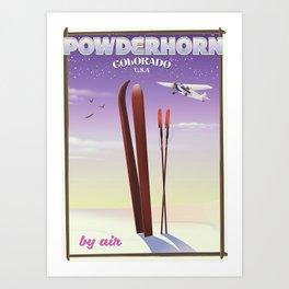 Powderhorn Colorado Art Print