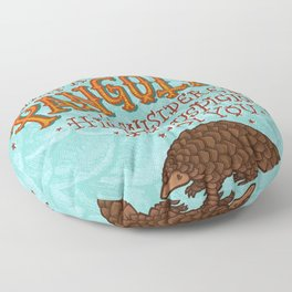 Pangolin Floor Pillow