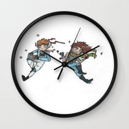 Battle Tendency Wall Clock