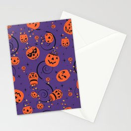 Halloween Magic- Purple Stationery Cards