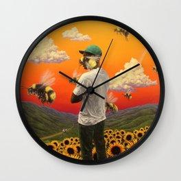 Flower Boy- Tyler, the Creator Wall Clock
