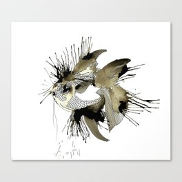 Spoted eye Fish Canvas Print