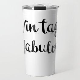 For the elderly Travel Mug