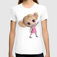chibi T-shirts featuring Chibi Girl by ChibiGirl