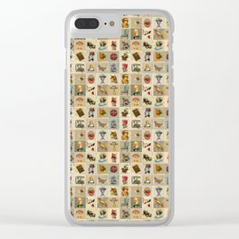Old Time Clear iPhone Case