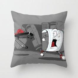 Drecula Throw Pillow