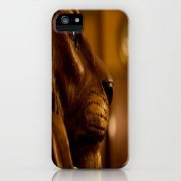 Lion Head by Igh Kihl Media/Piffington Kushfield Photography iPhone Case