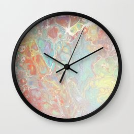 Janine's California Dreamin' Wall Clock