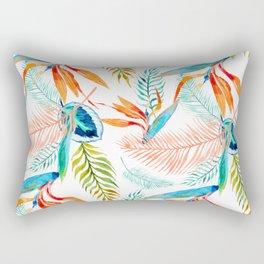 birds of paradise pattern Rectangular Pillow