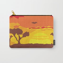 Afrosunset Carry-All Pouch
