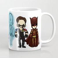 watchmen Mugs featuring watchmen by Space Bat designs