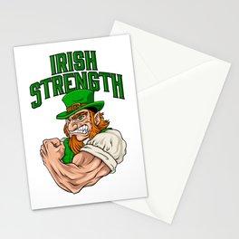 Irish Strength - Fitness Leprechaun Training Stationery Cards