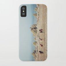Oregon Wilderness Horses Slim Case iPhone X