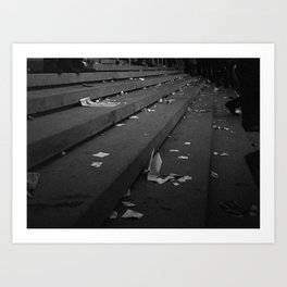 After The Race Art Print