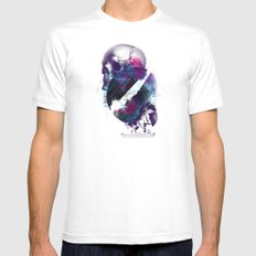 Orbital Destroyer MEDIUM White Mens Fitted Tee