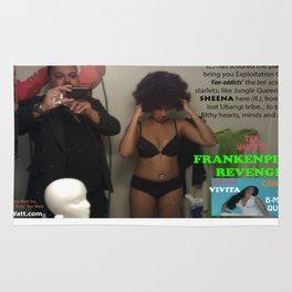 Tex Watt's 'Frankenpimp's Revenge' Movie Poster #4 Rug