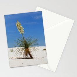 Living In The White Sand Dunes Stationery Cards