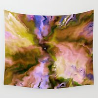 big bang Wall Tapestries featuring The Big Bang by Just Art