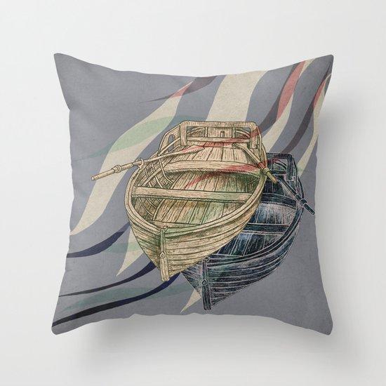 Undercurrents  Throw Pillow