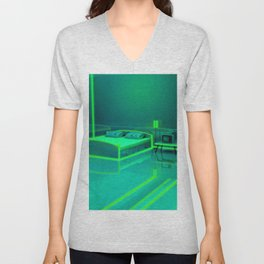 Green Room Unisex V-Neck