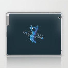 Space Hula Hoop Laptop & iPad Skin