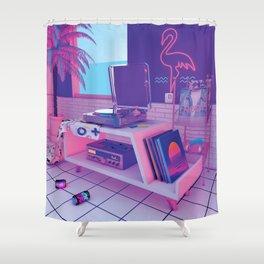 spinningwave Shower Curtain