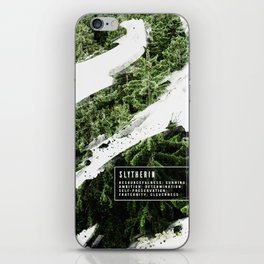 Slytherin Nature iPhone Skin