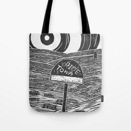 Pine Town Tote Bag