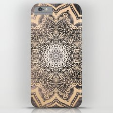 GOLD EARTH FLOWER MANDALA iPhone 6s Plus Slim Case