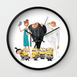 despicable One Wall Clock