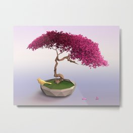 Bonsai Metal Print