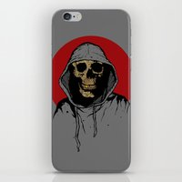 returns iPhone & iPod Skins featuring Skullboy Returns by Matthew Dunn