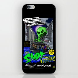 The Snot That Ate Port Harry poster iPhone Skin