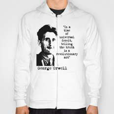 George Orwell Hoody