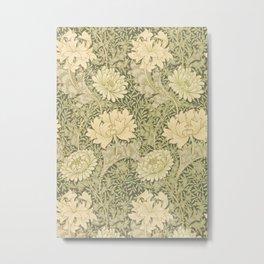 William Morris Vintage Chrysanthemum Print, 1877 Metal Print
