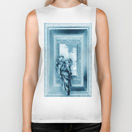 Angel of Bristol (Blue - Inverted) Biker Tank
