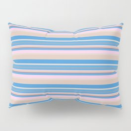 Cherry Blossom Stripes Pillow Sham