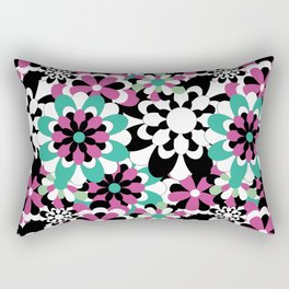 Tutti Fiori (pink) Rectangular Pillow