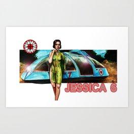 Jessica 6 Art Print